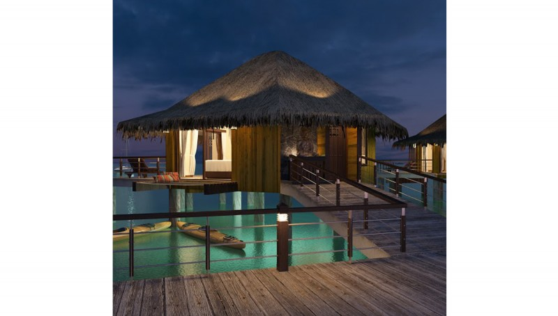 Mexico S First Overwater Bungalows